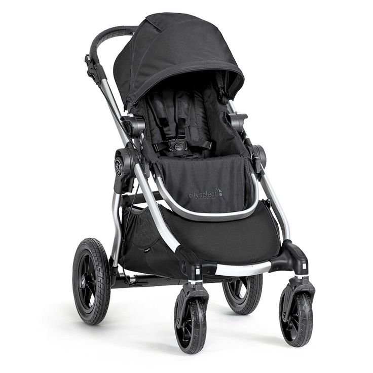 Baby Jogger® city select® Single Stroller in Onyx/Silver