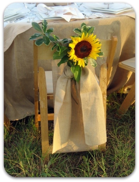 17 Best Images About Sunflowers And Burlap Wedding On