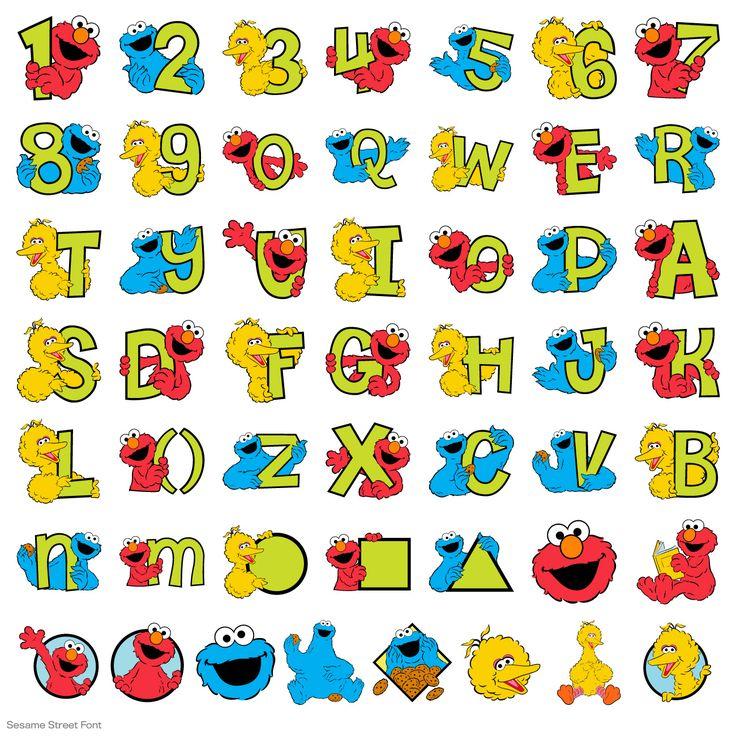 Sesame Street® Font