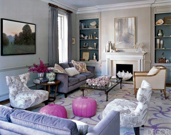 Die besten 25+ Wandgestaltung lila grau Ideen auf Pinterest - wohnzimmer grau lila weiss