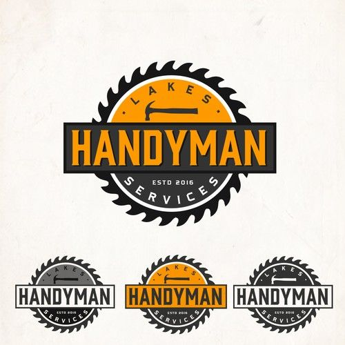 Lakes Handyman Services - Devise a clean vintage logo for a growing Handyman Service