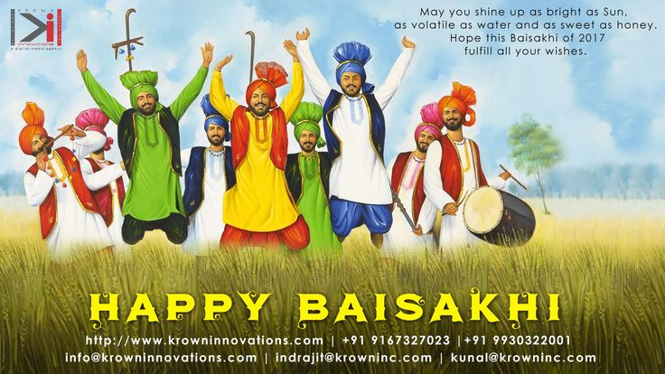 The greatest comforts and lasting peace are obtained, when one eradicates selfishness from within ~ Guru Gobind SinghJi #HappyBaisakhi #teamKrown #Krowninnovations #baisakhi #stayblessed #happiness #bhangrategidda #Festivities #happynewyear #Krownteam