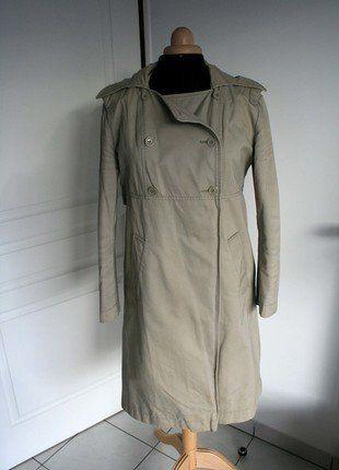 À vendre sur #vintedfrance ! http://www.vinted.fr/mode-femmes/manteaux-dhiver/27940170-trench-kookai-beige-double-molleton