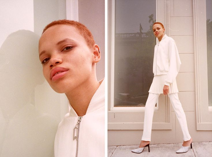 Billie wearing head to toe Dion Lee shot in Sydney for Cool Pretty Cool