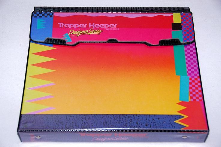 VINTAGE 1980s MEAD TRAPPER KEEPER BINDER NOTEBOOK-DESIGNER SERIES-NEVER USED | eBay