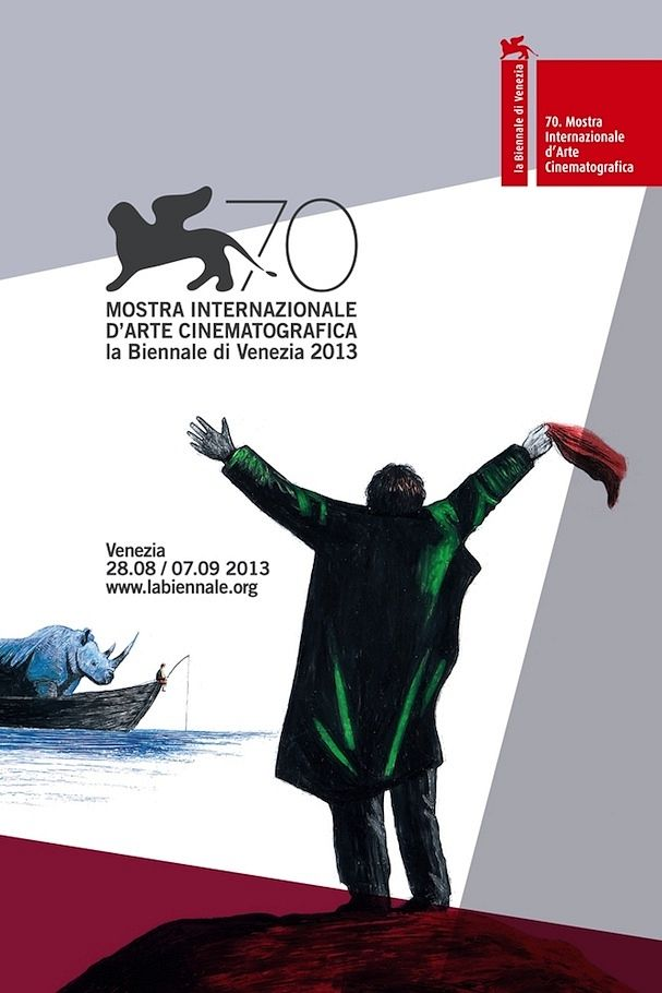 Homage of Teo Angelopoulos - 70th Venice Film Festival (official poster)