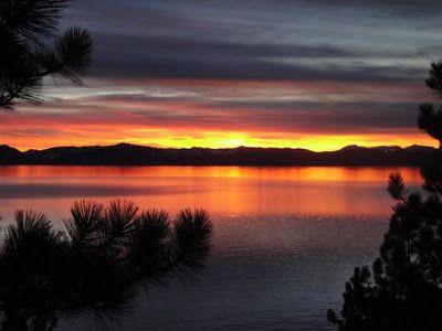 atardecer lake tahoe