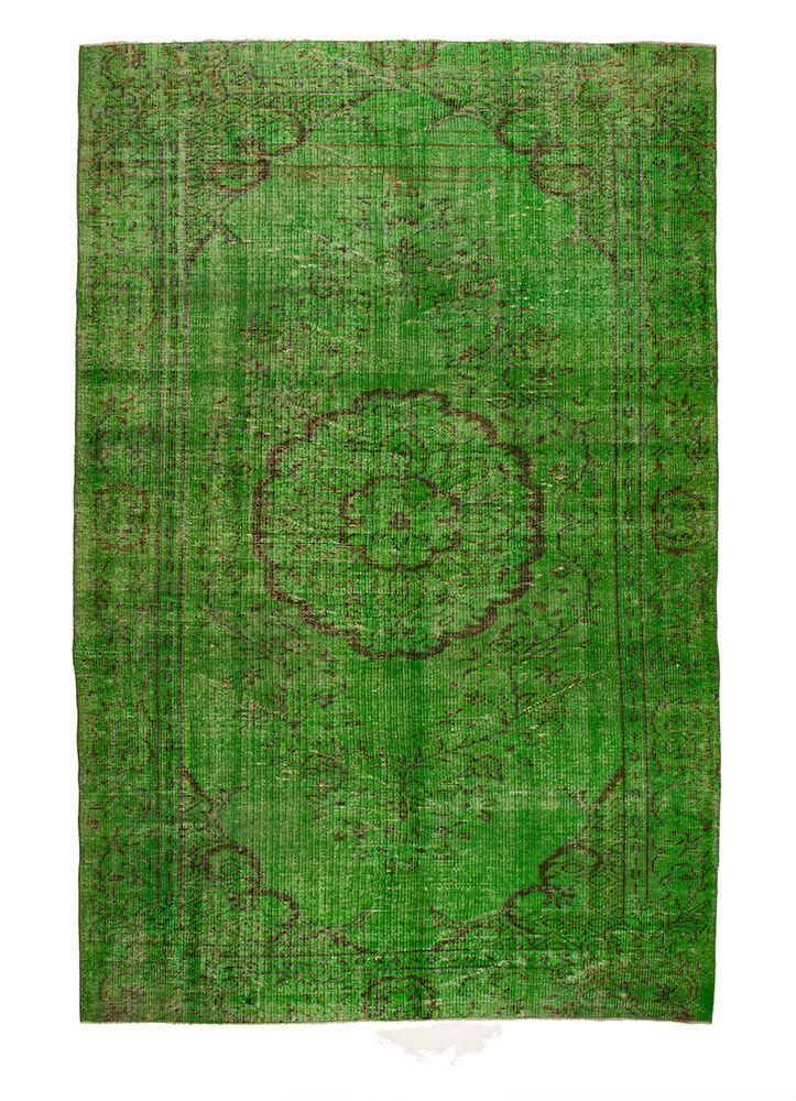Recoloured tapijt 056 - 408 gras groen