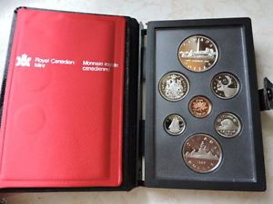 Royal Canadian Mint 1984 Silver & Nickel Proof Set