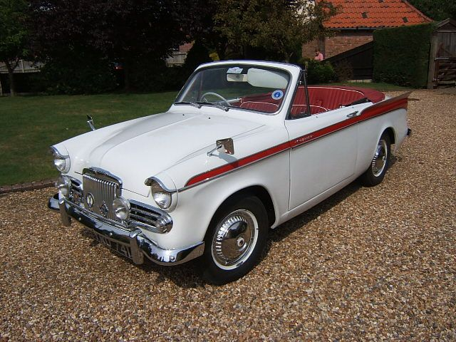 1959 Sunbeam Rapier Convertible