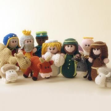 Nativity set (all patterns) amigurumi pattern by Woolytoons