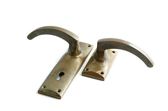 世界中から買い付け輸入したアンティークのドアノブフック ハンドル