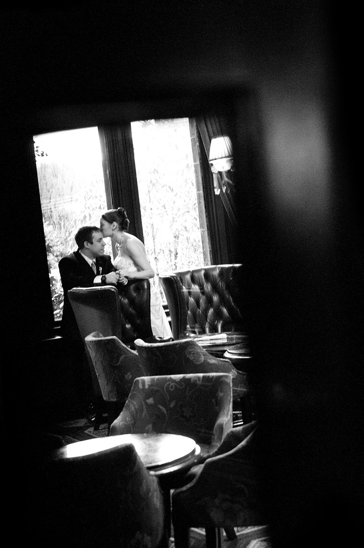 A quiet moment on a whirlwind wedding day in Ashford Castle. The perfect destination #wedding location in #Ireland. #AshfordCastle #bride #romance #castle