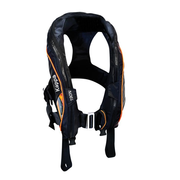 Kappa Inflatable Lifejacket, Auto, Adult,190N, ISO 12402-3 with double crotch image