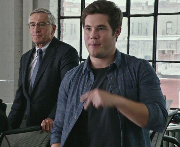 'The Intern' Trailer: Robert De Niro Gives Adam DeVine Dating Advice —Watch
