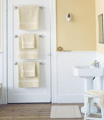 This would be great for the kids bathroom but can you put these into a door without poking through to the other side?