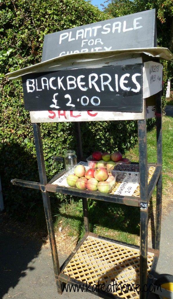 Blackberry & Apple Cumble