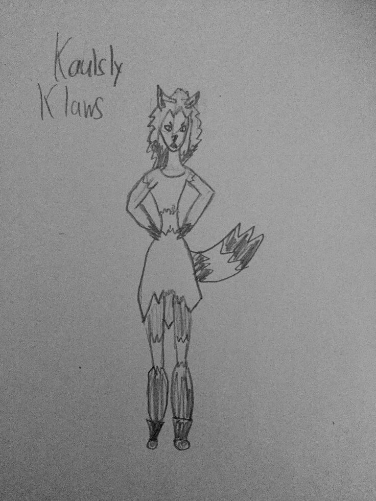 Kaulsly Klaws, the school a-hole. Rude and mean, if she doesn't get what she wants when she wants it, her pure rage comes out. Avoid this werewolf if you don't want vulgarities spewed at you.