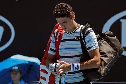 Milos Raonic Is Upset in First Round of Australian Open