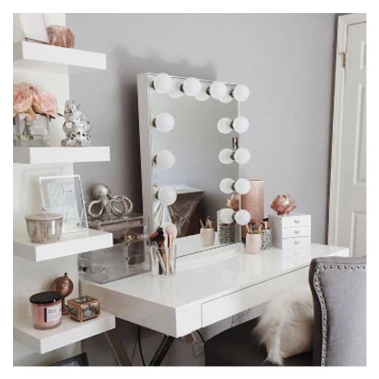 How To Put Up A Bathroom Mirror: 17 Best Ideas About Vanity Set Up On Pinterest