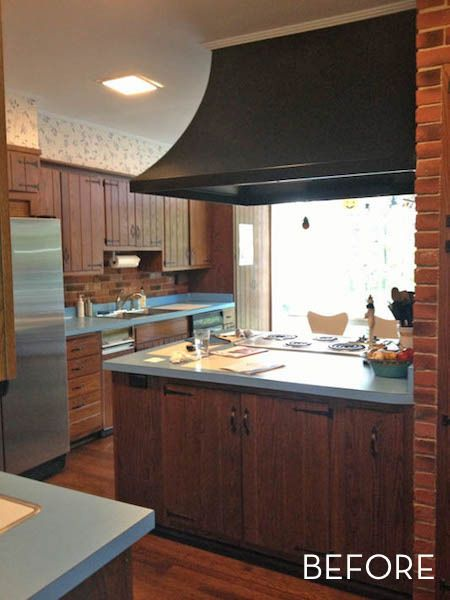 Before & After: Hellish Kitchen Gets Heavenly Makeover » Curbly | DIY Design Community