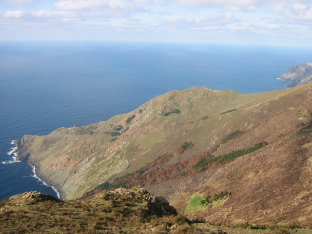 Vixía da Herbeira. Altitud: 613 sobre el nivel del mar. Cariño (A Coruña)