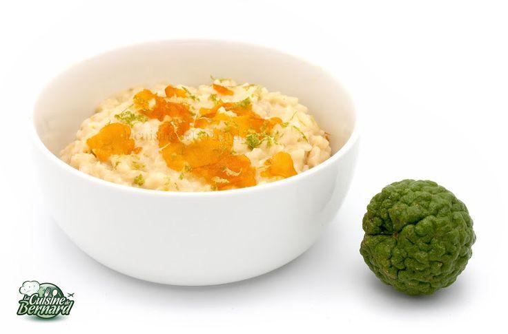 La Cuisine de Bernard : Risotto au Combava et à la Poutargue