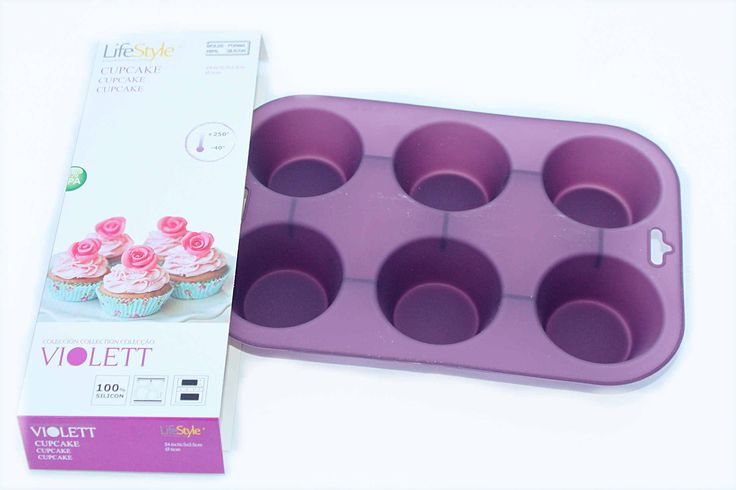 CUPCAKE MOULD part of the 3 SILICONE MOULDS SET FOR CAKES & CHEF APRON 40€ - Oven, Microwave and Freezer safe. Dishwasher safe - #SiliconeCupcakeMold by http://www.amazon.de/gp/aag/main?seller=A1QPL980FAHTMT