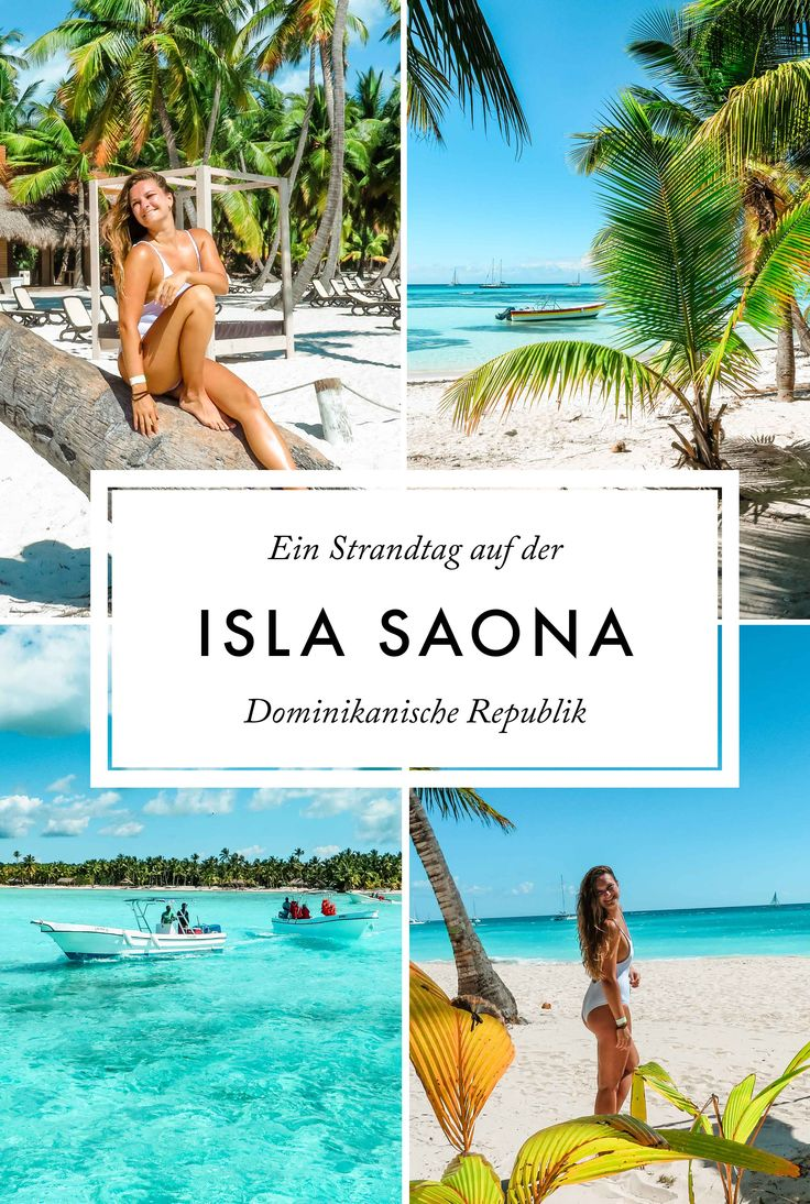 Dominikanische Republik: Strandtag auf der Isla Saona Traveldiary | Caribbean Beach | Island | What to do on Dominican Republic | Paradise | Explore the World | TUI Cruise with Mein Schiff 5 | Palms | Palmtrees