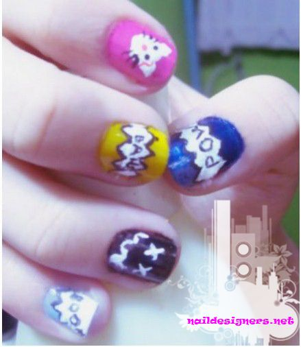 Nail Art Designs 2011: 1000+ Ideas About Funky Nail Art On Pinterest