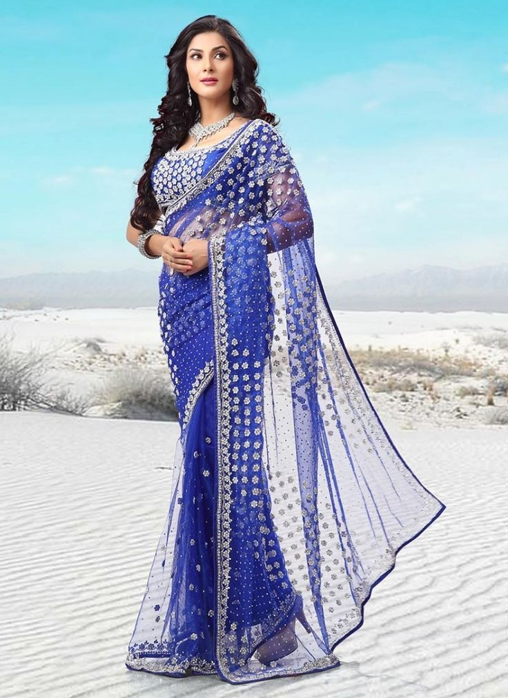Latest Modern Indian Saree & Blouse Designs Catalogue 2015 ...