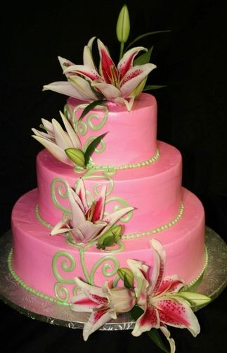 Weddingzilla: Fab Wedding Cakes: Unique Wedding Cakes, Pink Wedding, Cakes Ideas, Pink Cakes, Cakes Decor, Awesome Cakes, Cakes Design, Beautiful Cakes, Birthday Cakes