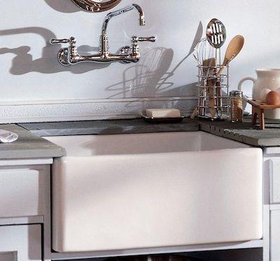 Barclayu0027s Single Bowl Fireclay White Kitchen Farmhouse Apron Front Sink  (shown In A 24