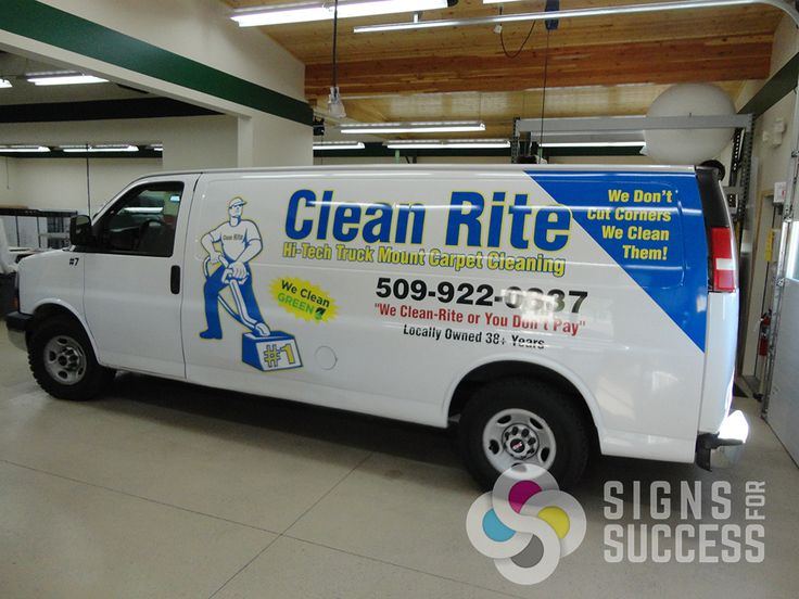 14 Best House Cleaning Vehicle Graphics Images On