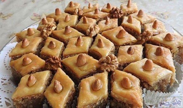 طريقة تقديم Food Baklava Desserts