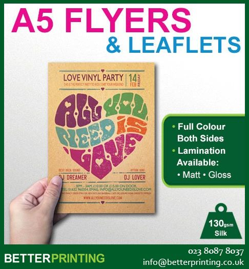 print your own flyers