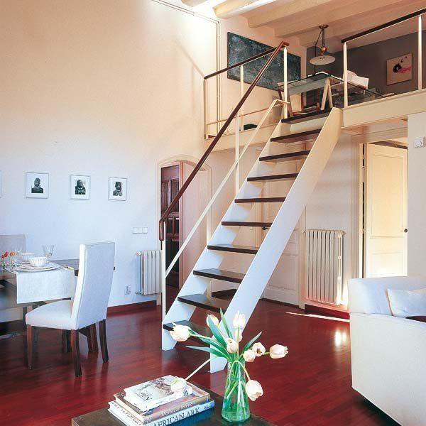 17 mejores ideas sobre escalera de hierro en pinterest for Escalera de madera para entrepiso
