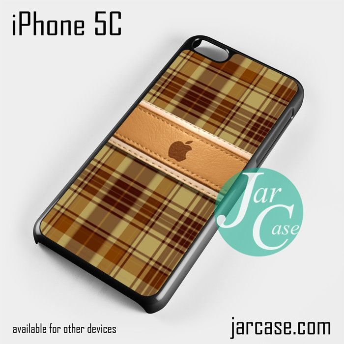 apple brown plate Phone case for iPhone 5C and other iPhone devices