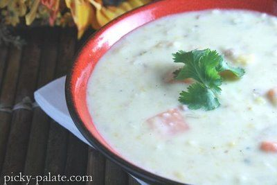 Roasted Butternut Squash, Red Potato and Asiago Soup | Picky Palate
