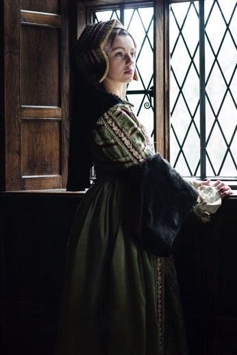 Henrician gown and Gable Hood
