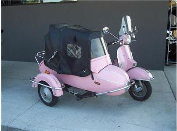 62 Best Scooters With Sidecars Images On Pinterest Sidecar