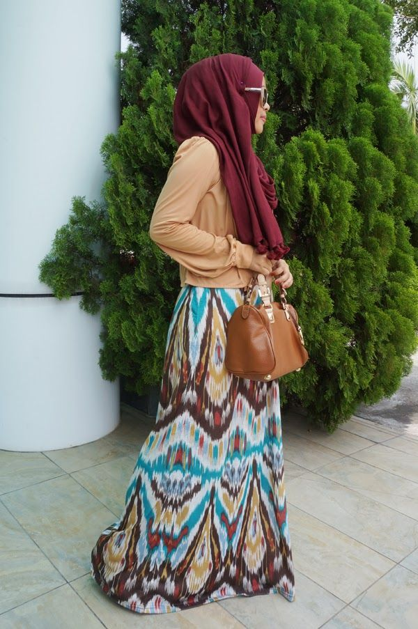 My Amethyst ♡ - pretty dress, hijab color drawn off the minor details in the dress