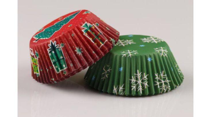 40 db-os karácsonyi muffin papír - Süss Velem.com