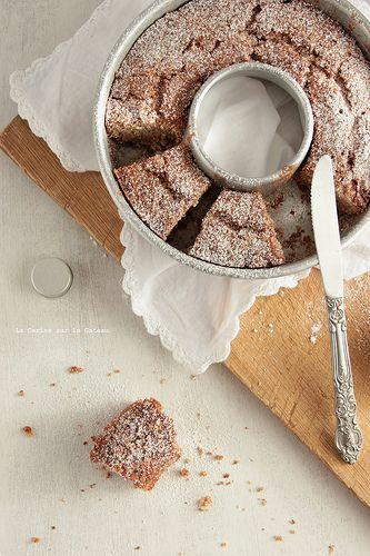 Gâteau aux noix & à l'orange confite