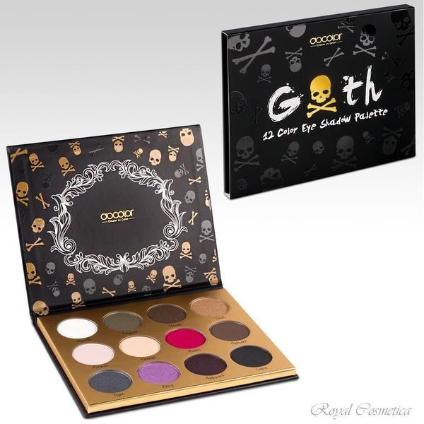 Docolor Goth Eyehadow Palette 12