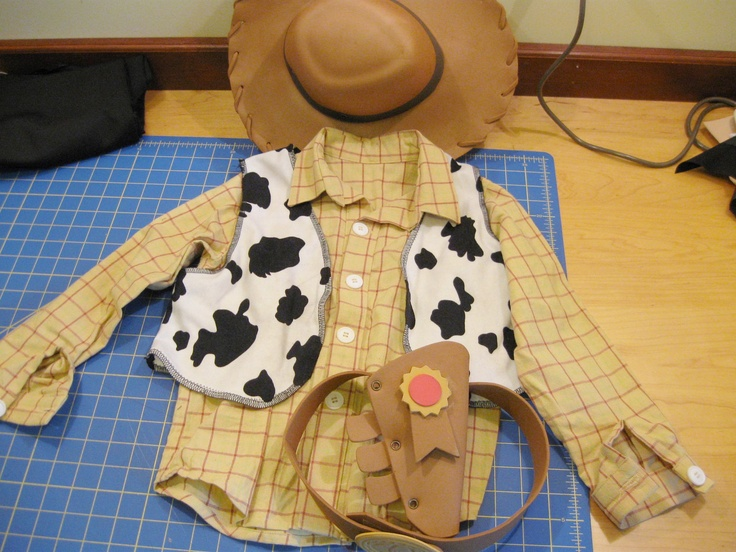handmade Woody Toy Story costume