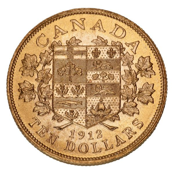 gold+numismatics | ... Selling Rare 1912-1914 Canadian Gold Coins | Gainesville Coins Blog