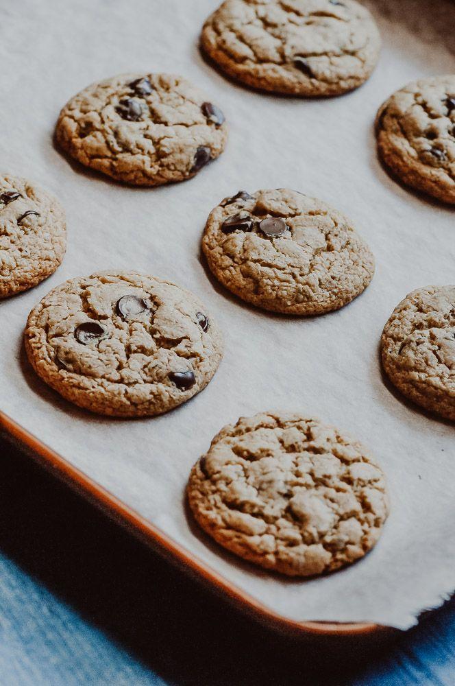The Best Gluten Free Vegan Chocolate Chip Cookies Nut Free
