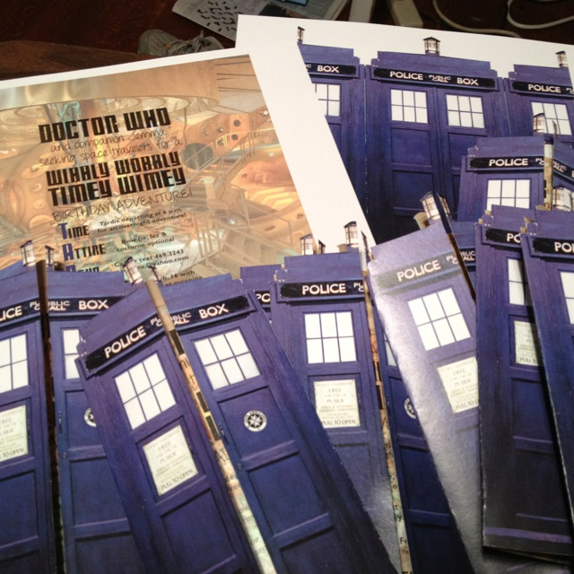 26 best My 23 birthday party ideas images – Doctor Who Party Invitations