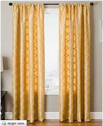 Maybe i could go with gold curtains instead of black or - Black and gold living room curtains ...